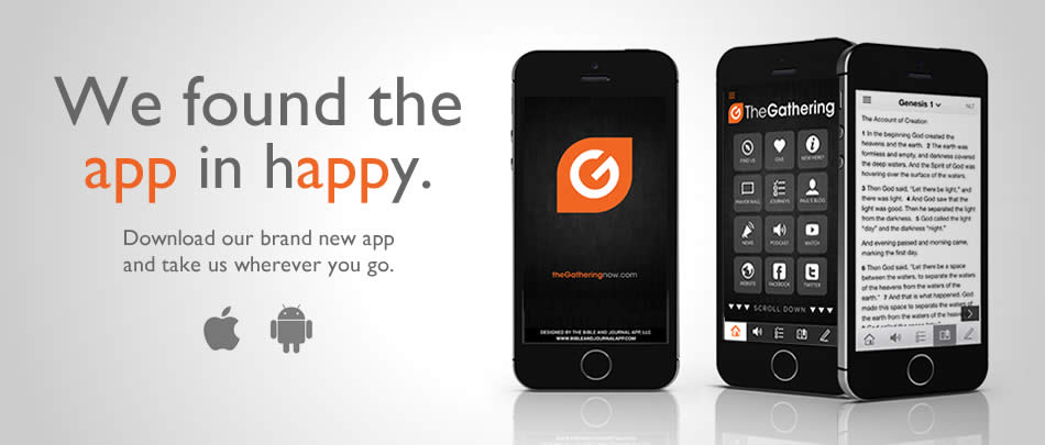 Taking us with you just got a whole lot easier with our FREE church app!