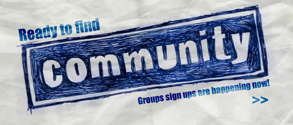 It's a BRAND NEW SEASON of Community Groups!
