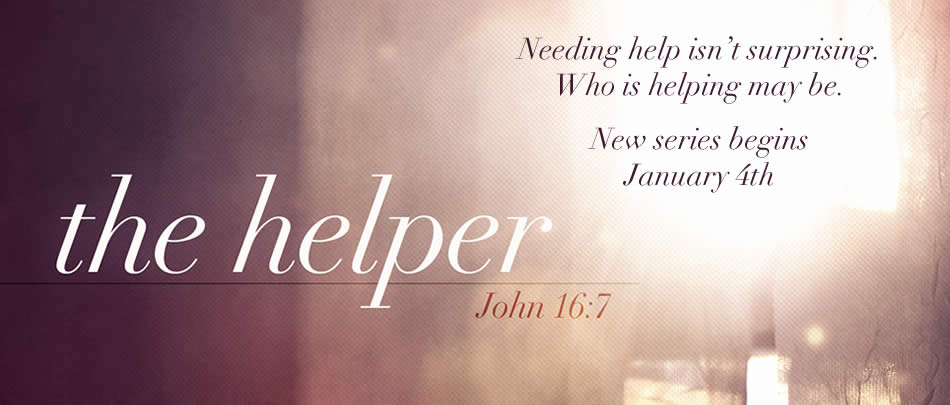NEW SERIES: Everyone needs help. Jesus knew that, and sent exactly WHO we needed.